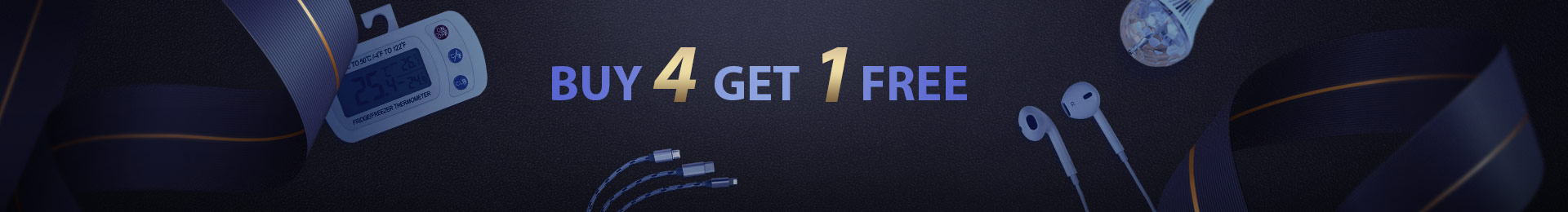 Buy 4 Get One Free