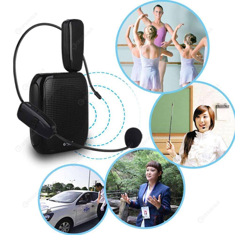 2.4G Wireless Microphone Speech headset Megaphone Radio Mic for Loudspeaker