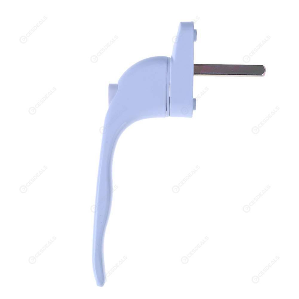 UPVC Universal Window Handle Key Locking For Double Glazing White