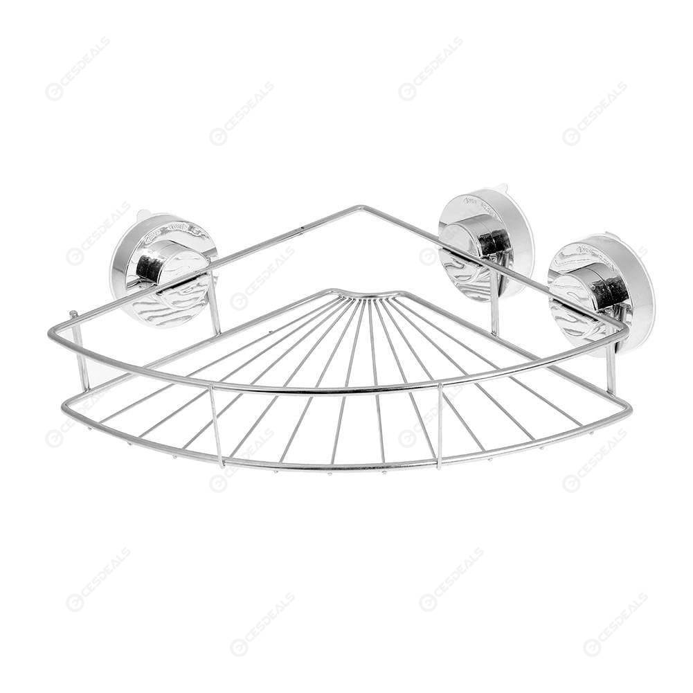 Salle de bain coin stockage titulaires grilles inox ventouse sous vide  mural Type stockage Rack cuisine tablettes rangement