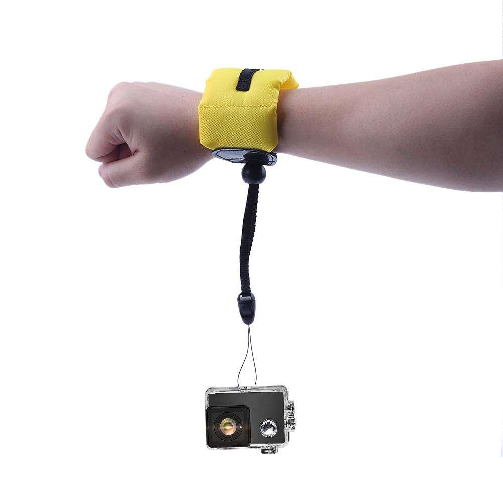 Drijvende Polsband Camera.Camera Accessoires Nylon Anti Drijvende Verloren Camera Houder Polsband Band Hand Voor Gopro Aee Canon Nikon Camera S Polsriem