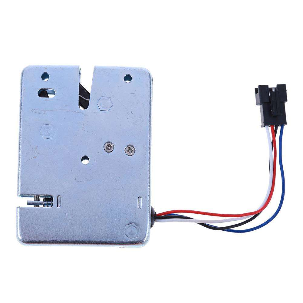 DC 12V 2A Electromagnetic Electric Control Cabinet Drawer Lockers Lock(12V)