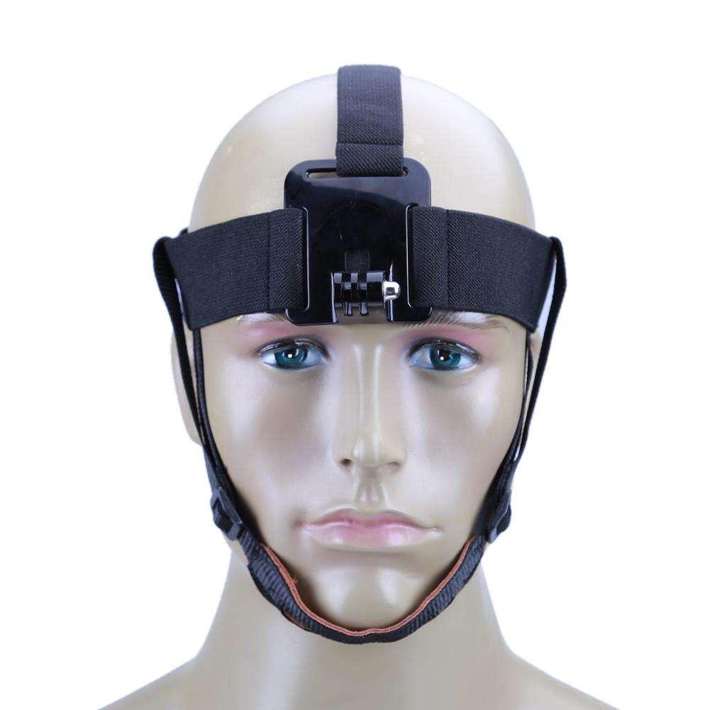offrir des rabais Style magnifique différemment Tête élastique réglable support ceinture bandeau serre-tête pour Go Pro  Hero 5 4 SJCAM SJ4000 SJ5000 caméra d'Action