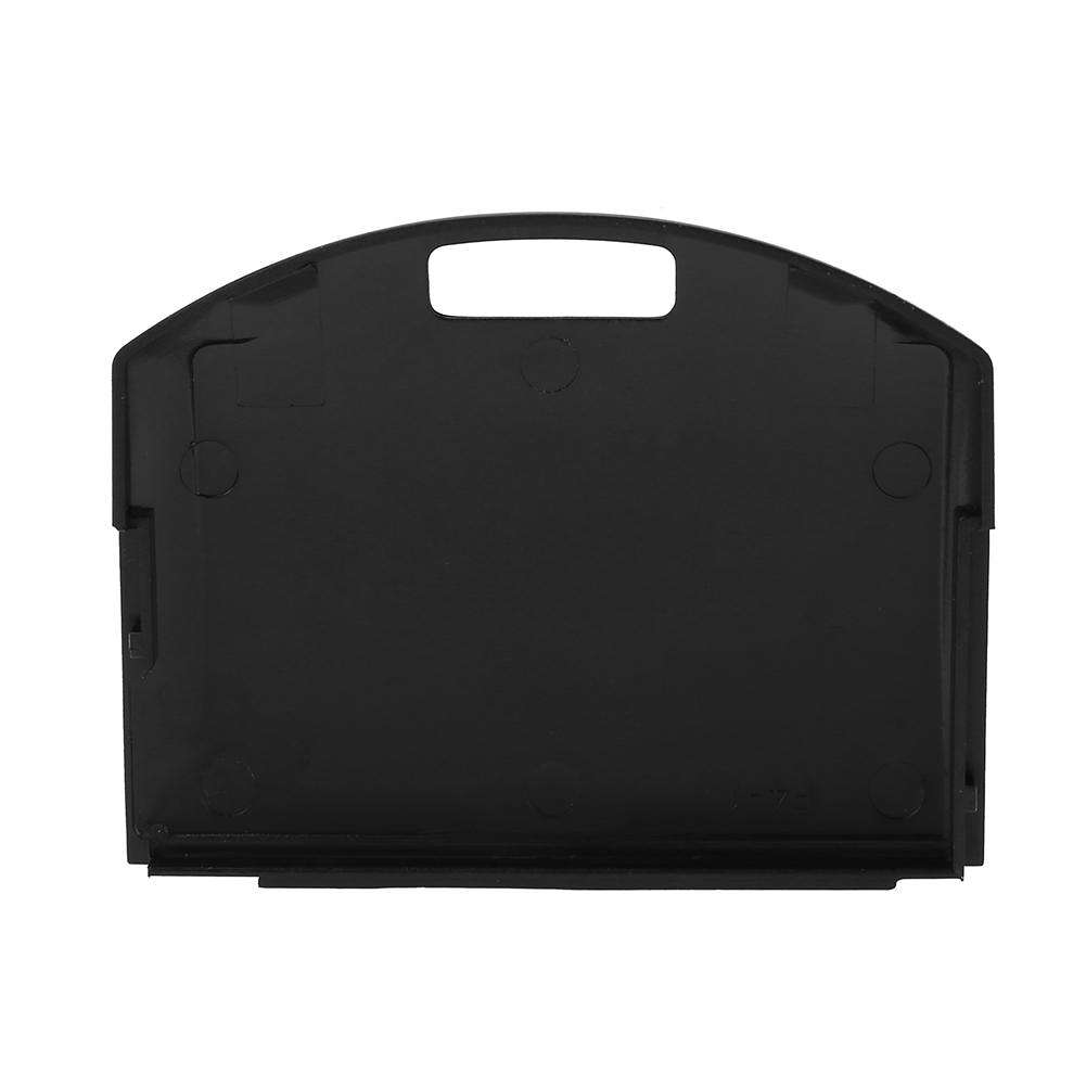 Battery Back Door Cover Case Replacement for Sony PSP 1000 (Black)