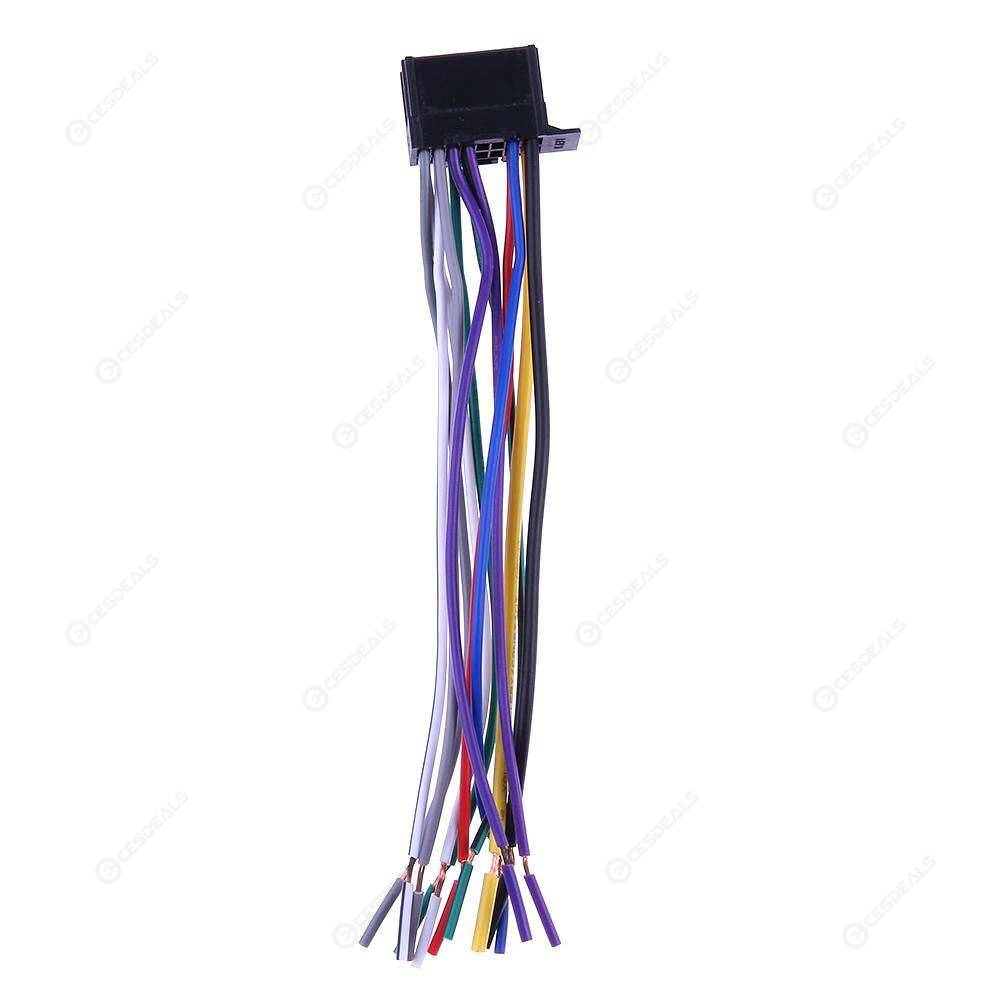 Car Stereo CD Player Radio Wiring Harness Wire Adapter Plug for NEW Pioneer