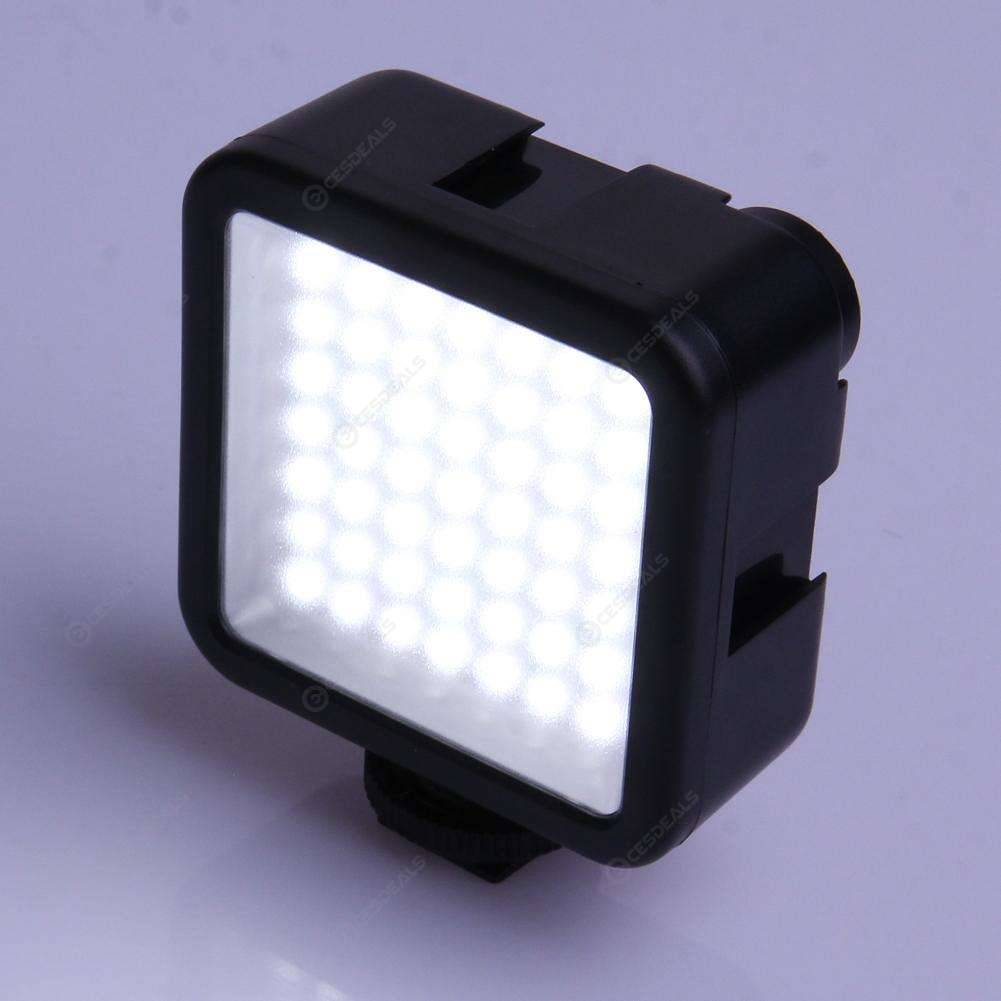 Portable 49 LED Video Light Lamp Photographic Photo Lighting for Camera Pho