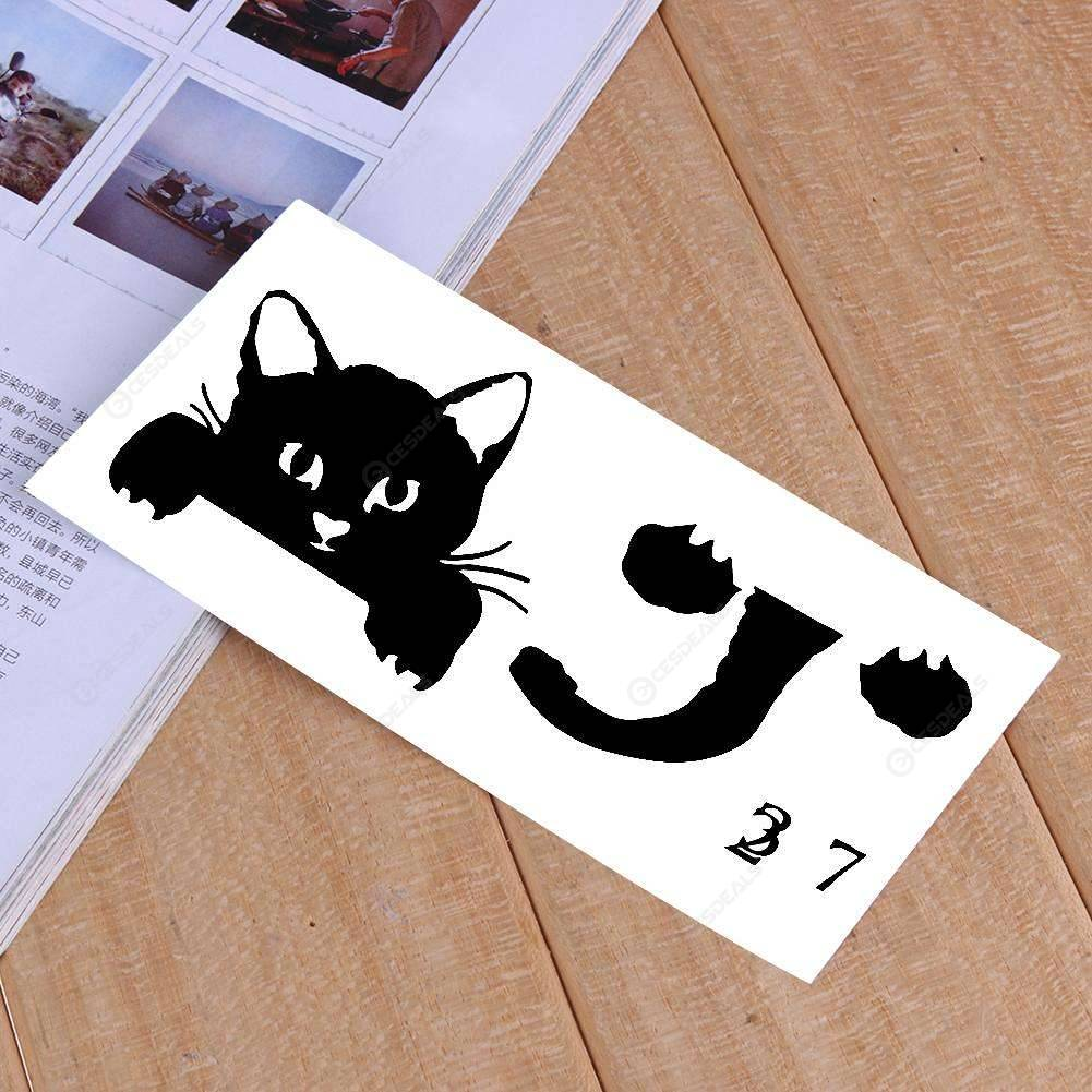 Little Cat Print Living Room Bedroom Switch Wall Sticker Home Decoration