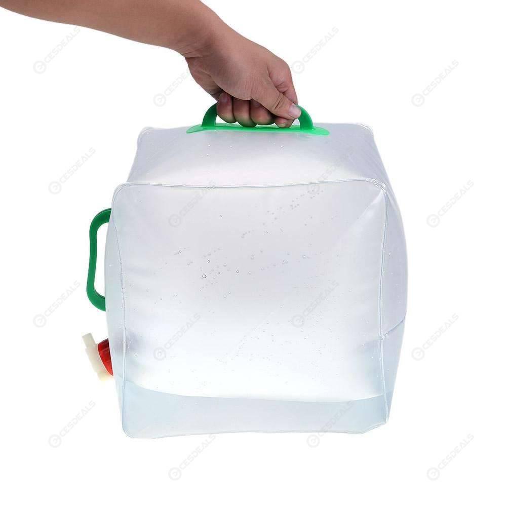 20L Portable Folding Water Bag Waterskin Outdoor Camping Hiking Bucket