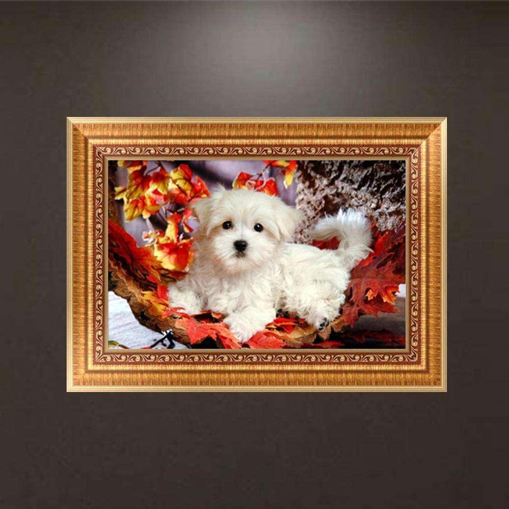 Dog Diamond Embroidery 5d Diamond DIY Painting Animal Cross Stitch