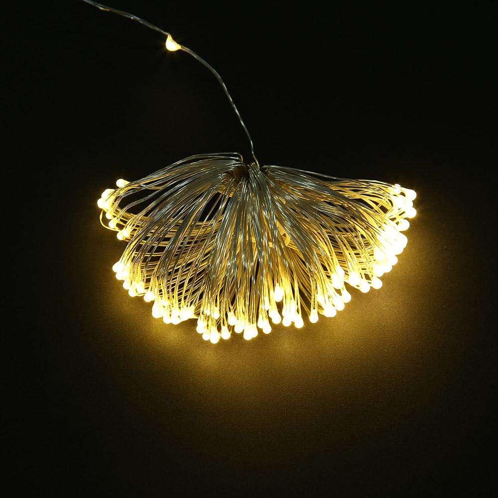 10m 100led Batterij Aangedreven Koperdraad Led String Fairy Lichten Voor Kerstmis Festival Bruiloft Feest Decoratie Verlichting