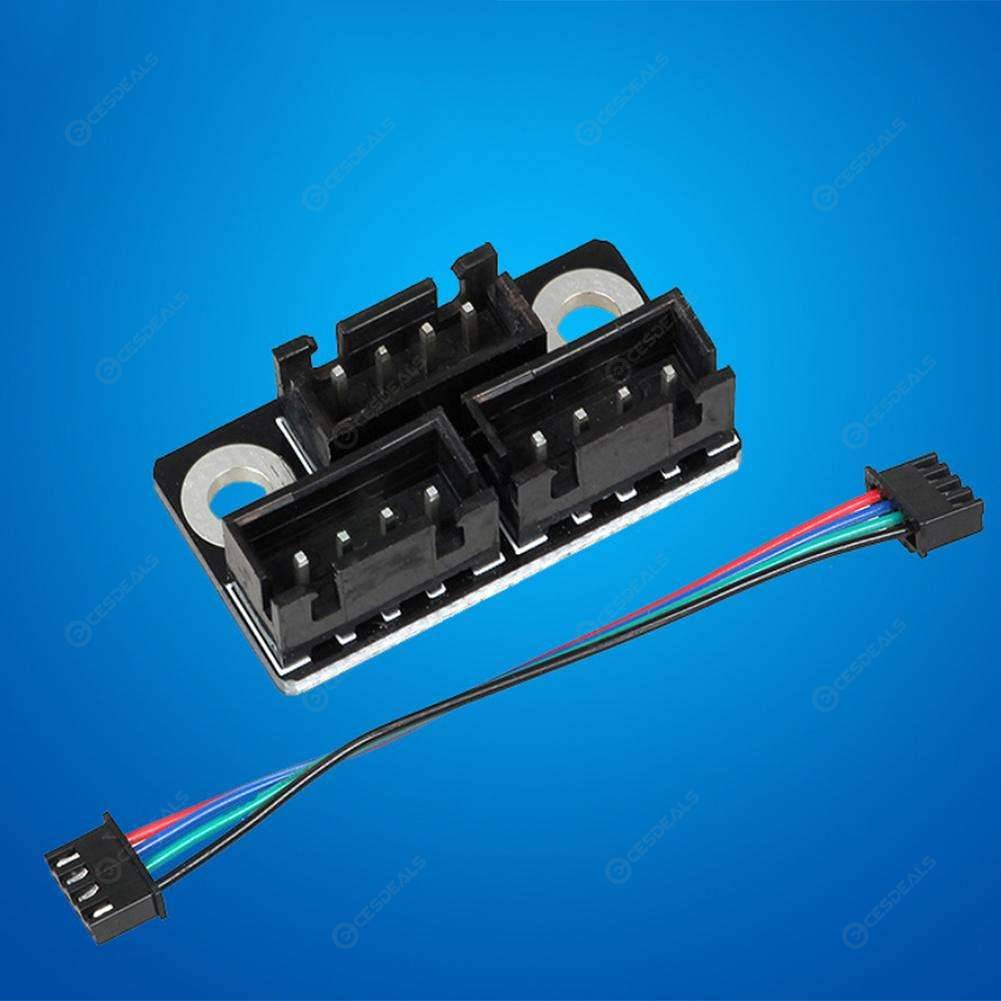 2pcs Motor Parallel Modules for 3D Printer Double Z Axis Dual Z Motors Adapter