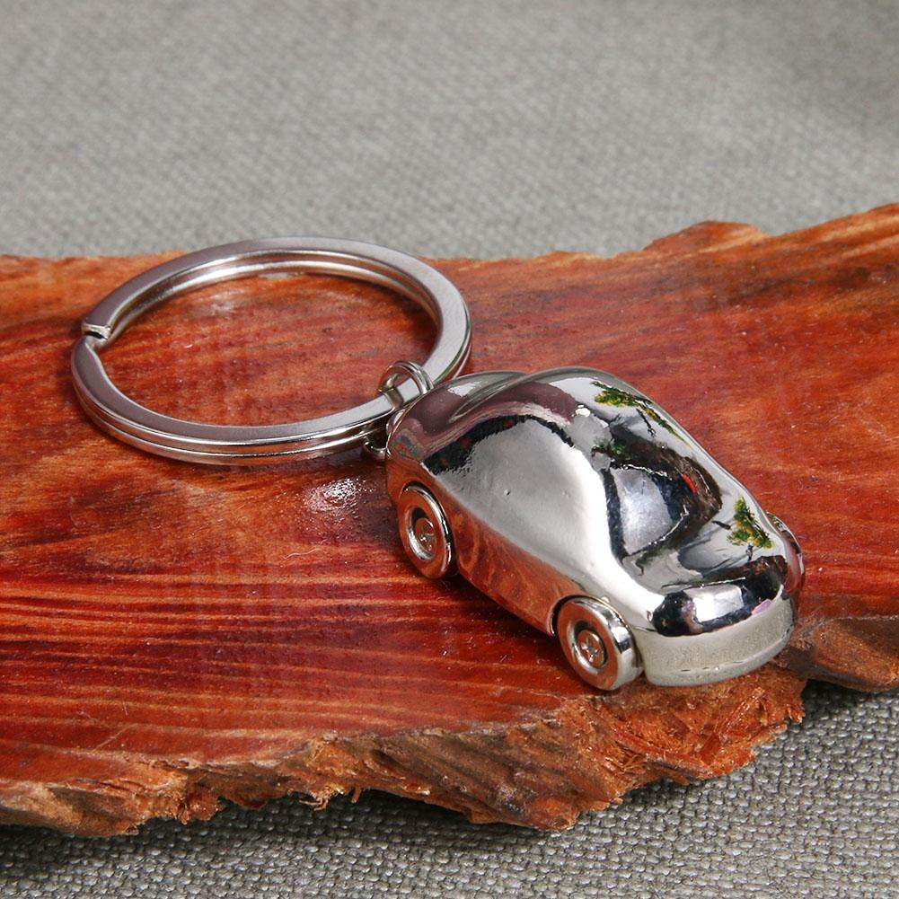 Zinc Alloy Car Shaped Keychain Key Rings for Men Women Car Decoration