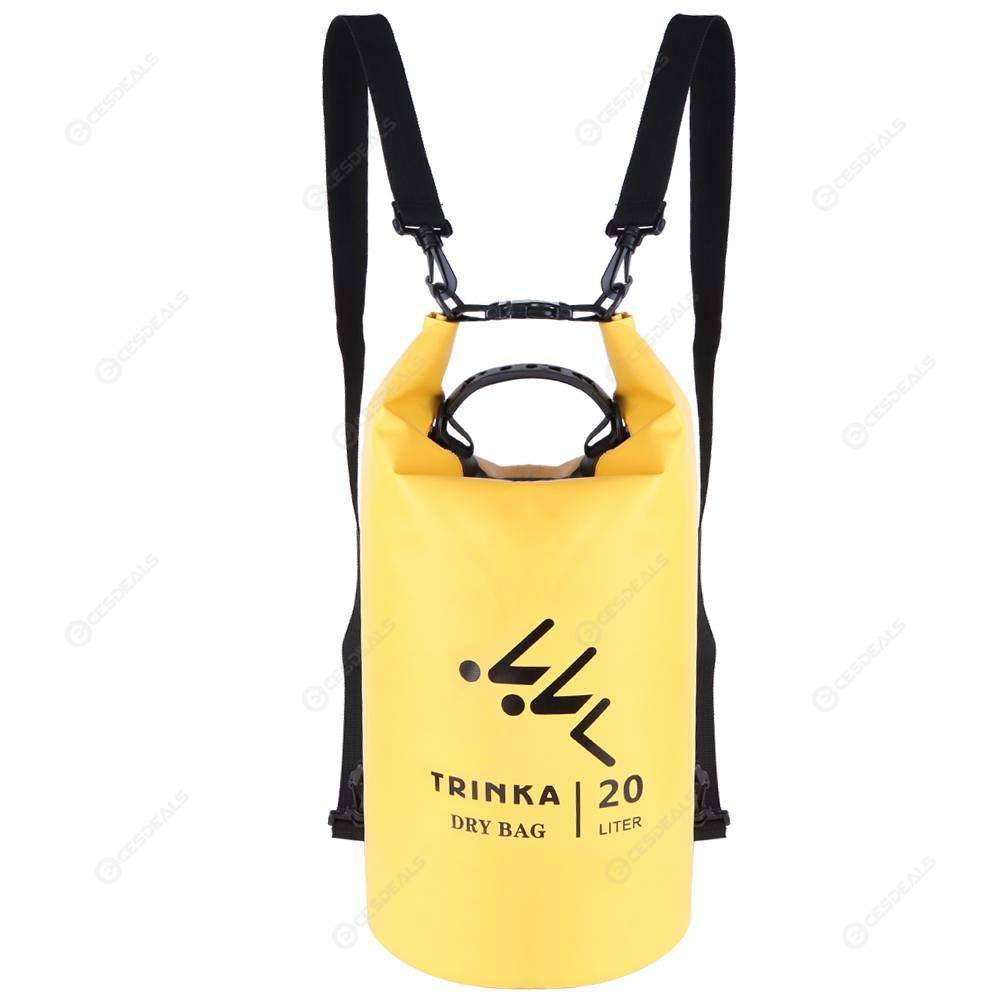 Waterproof Dry Bag Sack For Boating Kayaking Camping Backpack PVC Heavey Duty