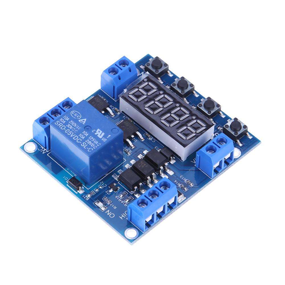 1pc Single Way Time Control Level Trigger Time Delay Timer Switch Module