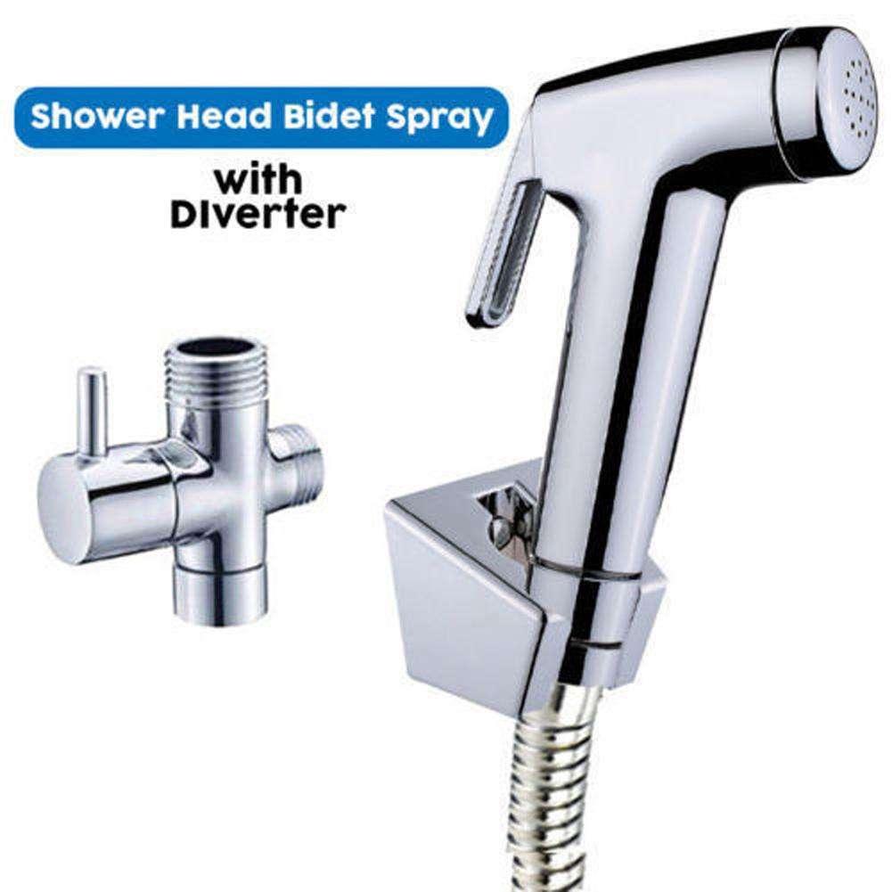 Hand-Held-Shower-Head-Douche-Bidet-Toilet-Spray-Jet-Shattaf-Kit-Chrom