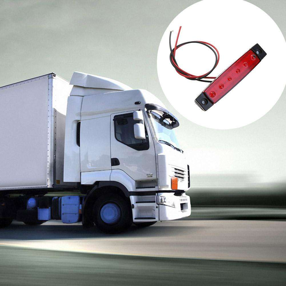 Waterproof SMD LED Car Bus Truck Trailer Lorry Side Marker Indicator Light