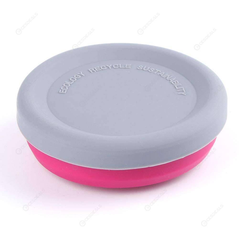 Silicone Folding Bowl Collapsible Outdoor Travel Camping Telescopic Dish