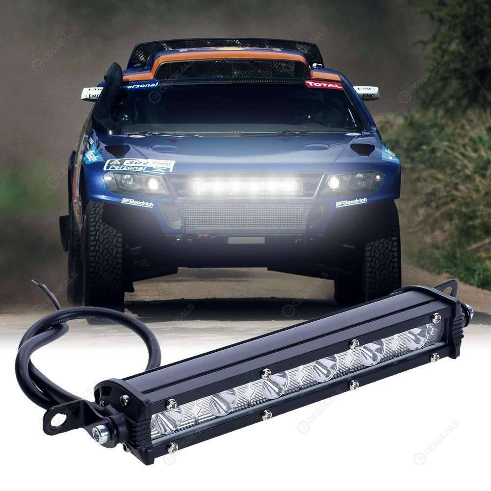 18w 6000k Led Arbeit Lichtleiste Lampe Wasserdicht Nebel Gelandewagen Fahren Scheinwerfer Auto Boot Lkw Led Scheinwerfer