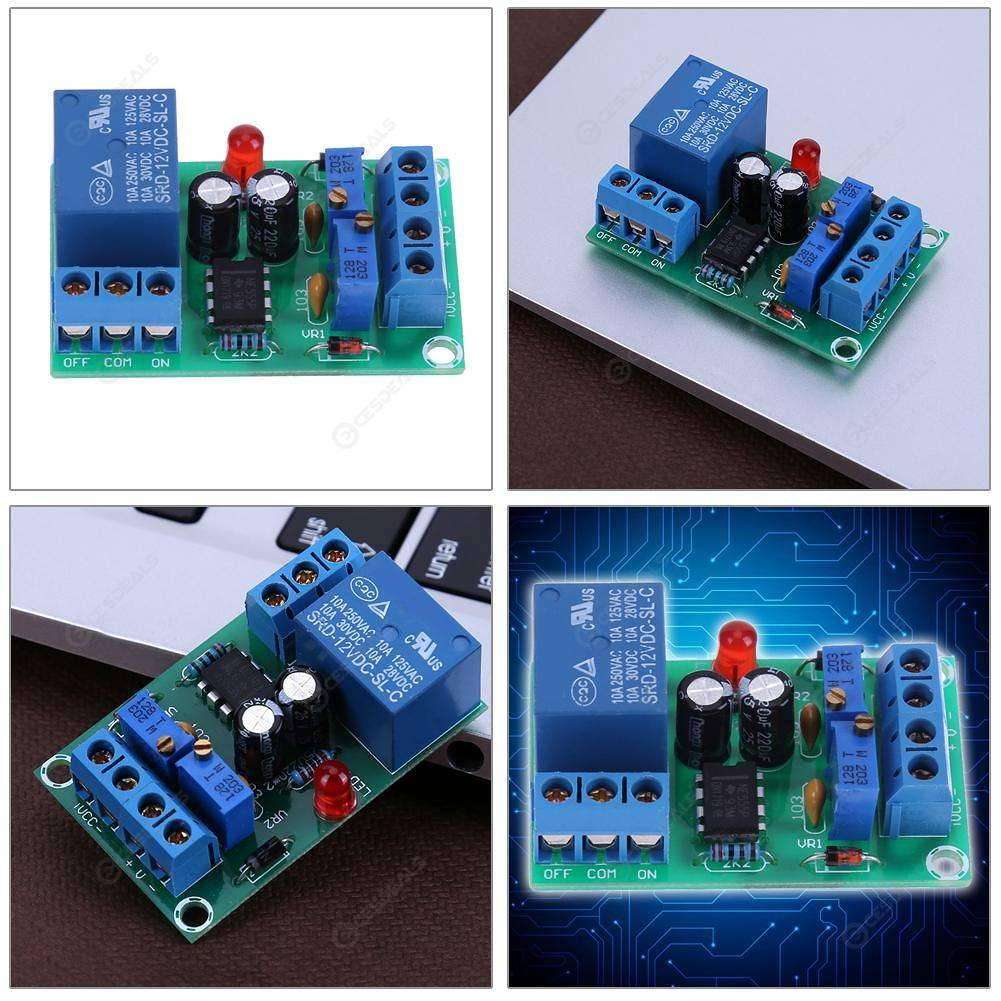 12V Battery Automatic Charging Controller Module Protection Relay Board
