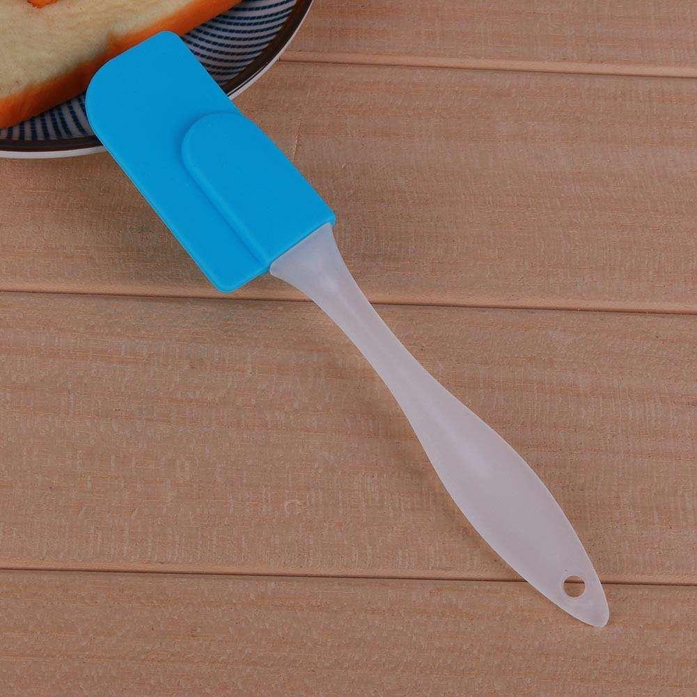 17 Farben Küche Schaber Silikon Kuchenspachtel Backen Backformen Tool Creme  Spachtel Kuchen Bürsten Tools Küche Backzubehör