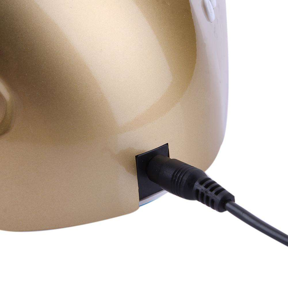 24W/48W Switchable Nail Dryer UV+LED Lamp Sensor Nail Art Tools(EU)(Gold)