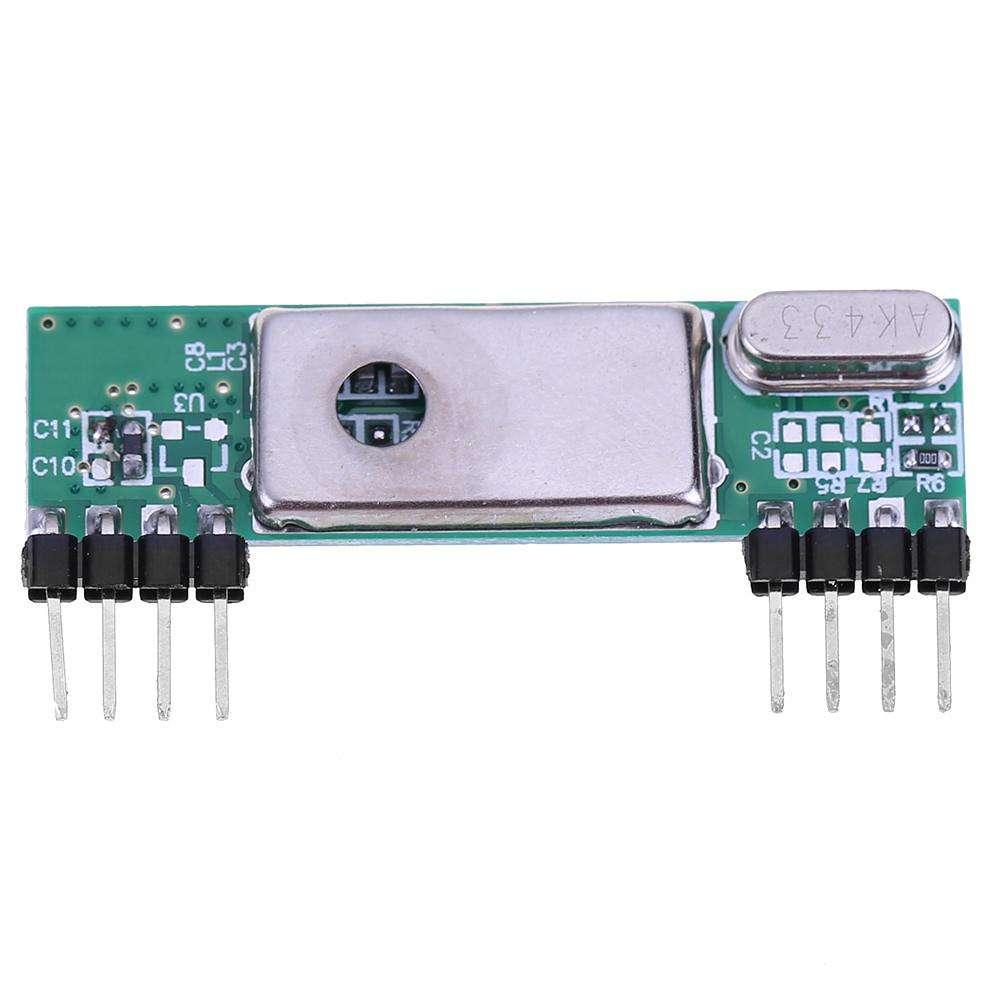 Kit Del Módulo De Receptor Superheterodino Antiinterferente 1pc Rf 433mhz Para Arduino Brazo Avr
