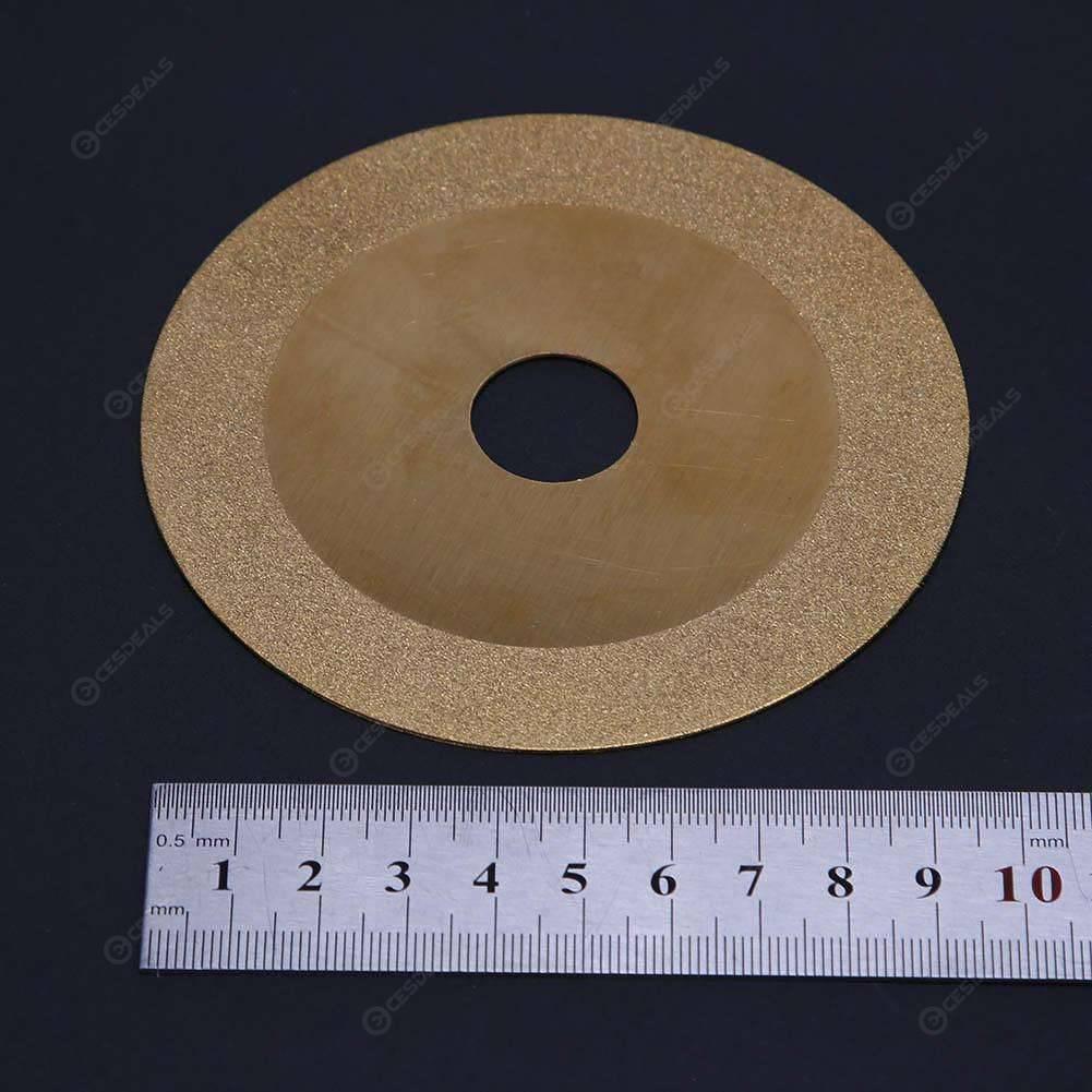 100mm Diamond Coated Glass Grinding Cutter Saw Blade Wheel Disc Rotary Tool