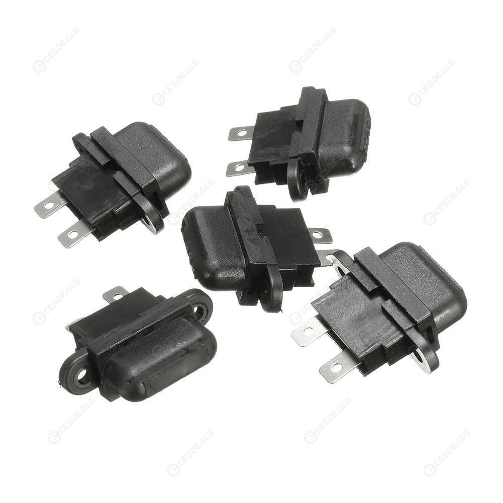 5PCS 30A Auto Blade Standard Fuse Holders Box Set For Car Boat Truck w// Cover