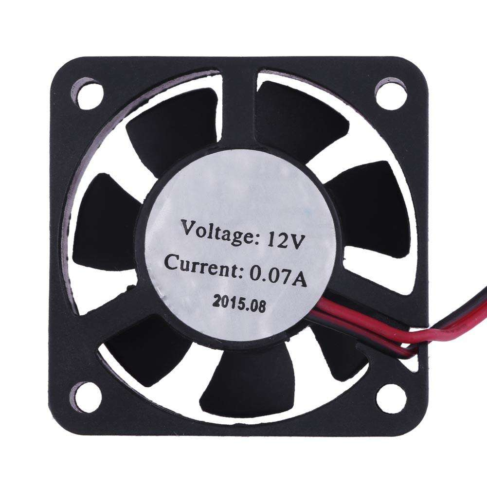 12V Mini 2 Pin Cooling Computer Fan 40x40x10mm for MK8 Ultimakr for Reprap