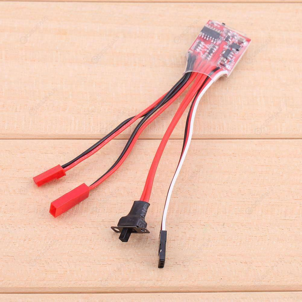 Synthetic 30A Mini Brushed ESC Brush Electronic Speed Controller for RC Car