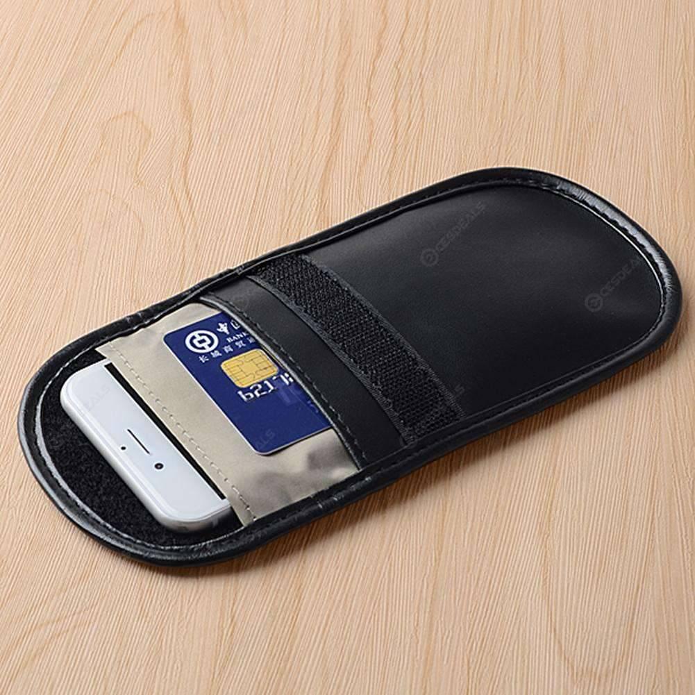 Car Key Signal Shielding Pouch Bag Cell Phone Signal Blocker/Jammer Pouch