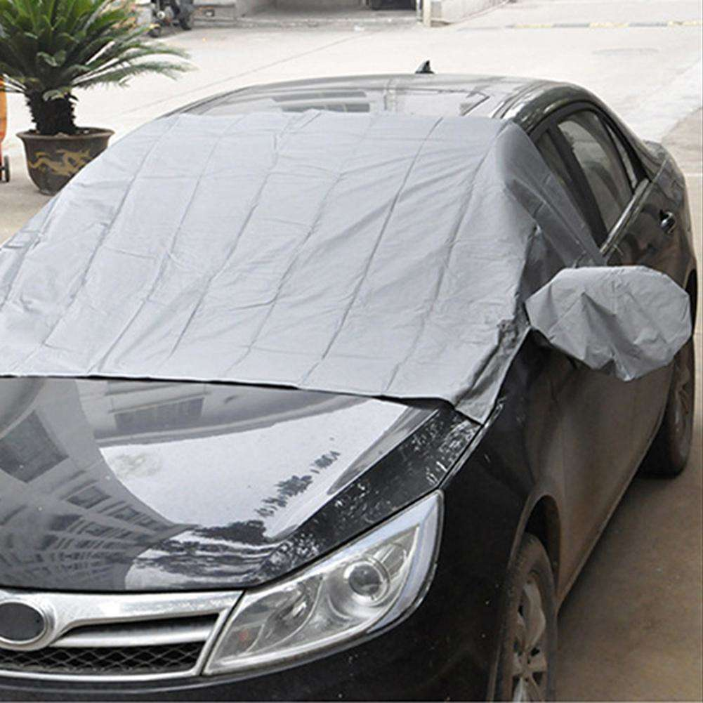 Magnetische Auto Abdeckung Windschutzscheibe Sonne Schnee Frost Spiegel Schutz