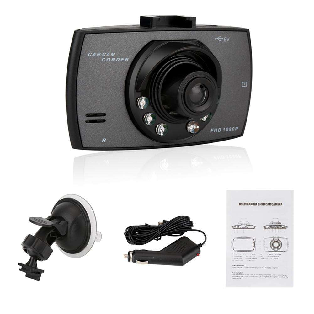 Single Lens 2.4in 1080P Car DVR Camera Video Recorder Night Vision Dash Cam