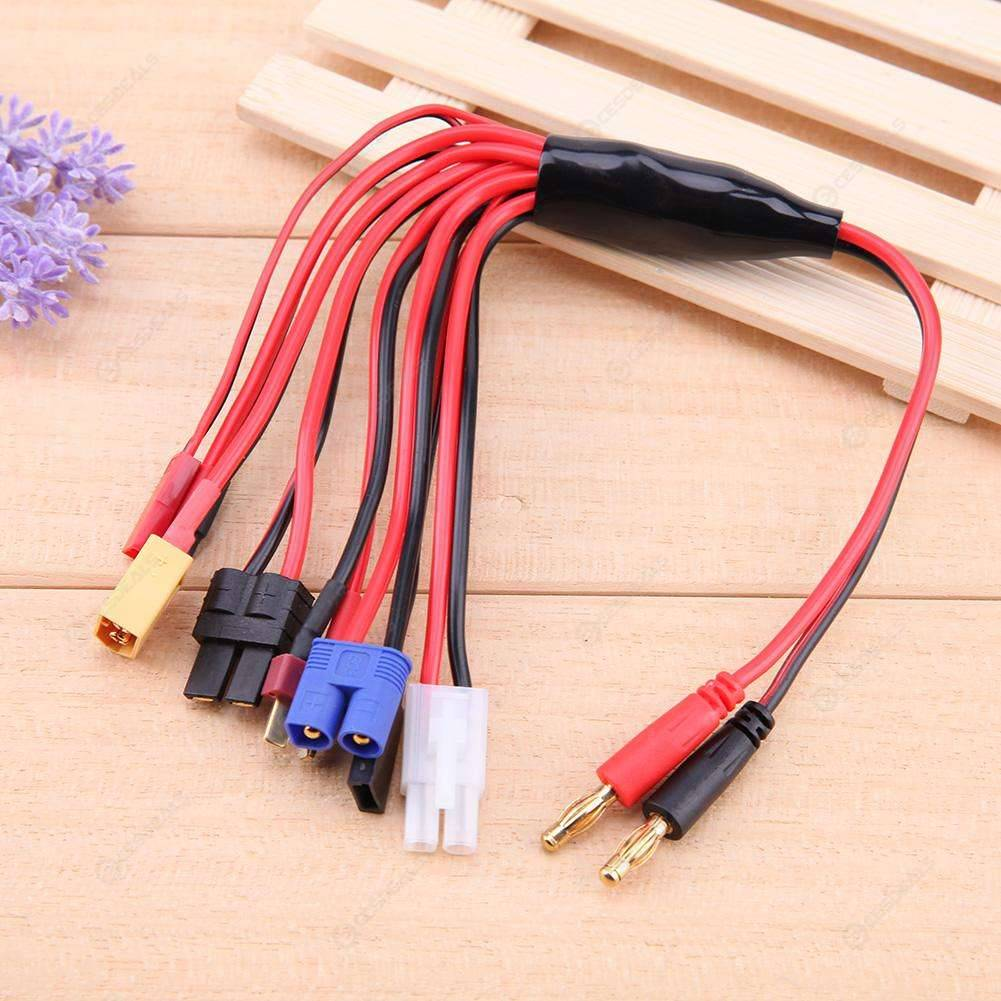 8 in 1 Multifunctional Multi Charger Plug Lipo Battery Convert Silicone Wire