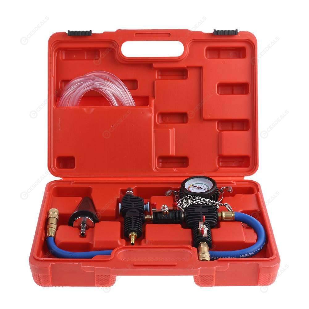 Professional Radiator Cooling System Vacuum Purge Coolant Refill Tool Kit S