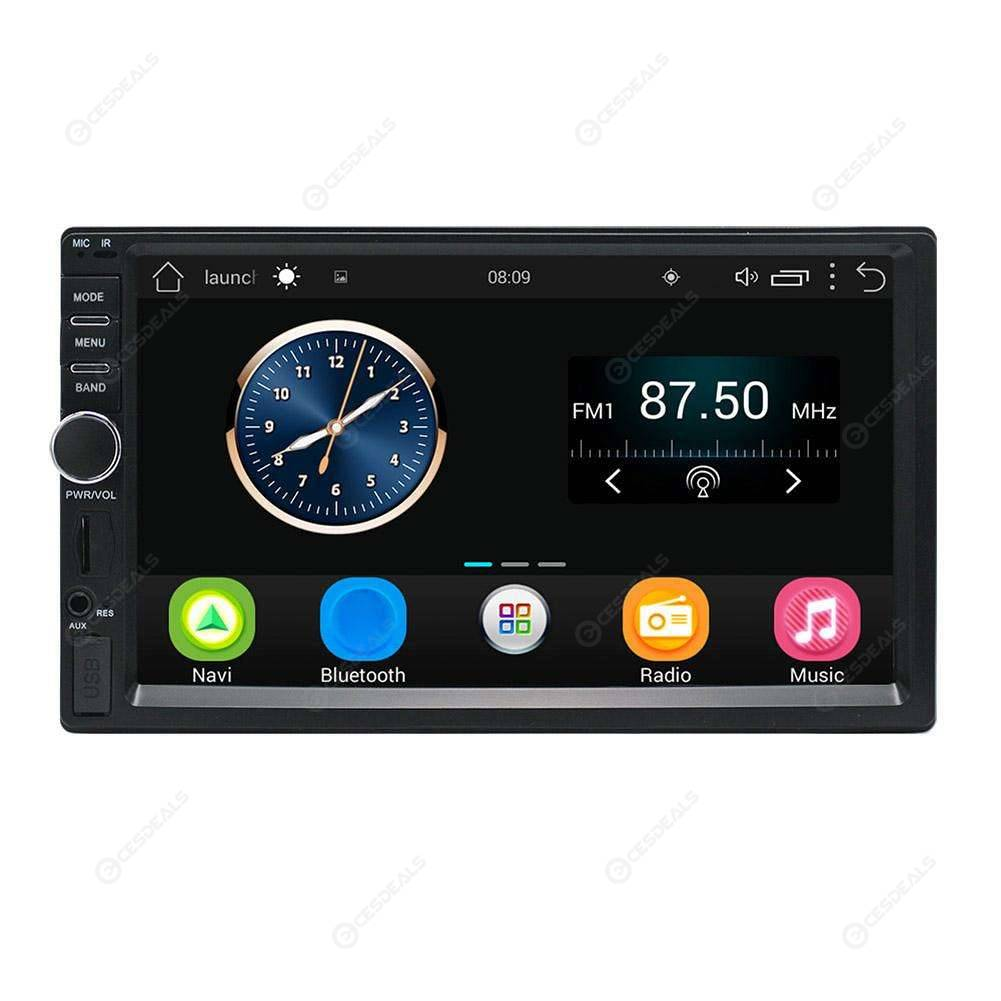 2Din In-dash 7in Touch Screen Car GPS Navigator Bluetooth FM/AM Radio MP5