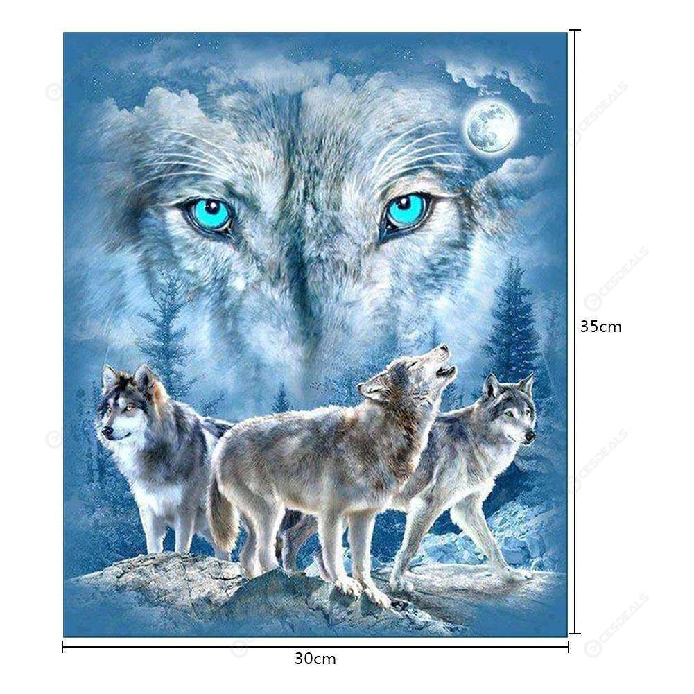 Wolf 5d Diamond Painting Embroidery Diy