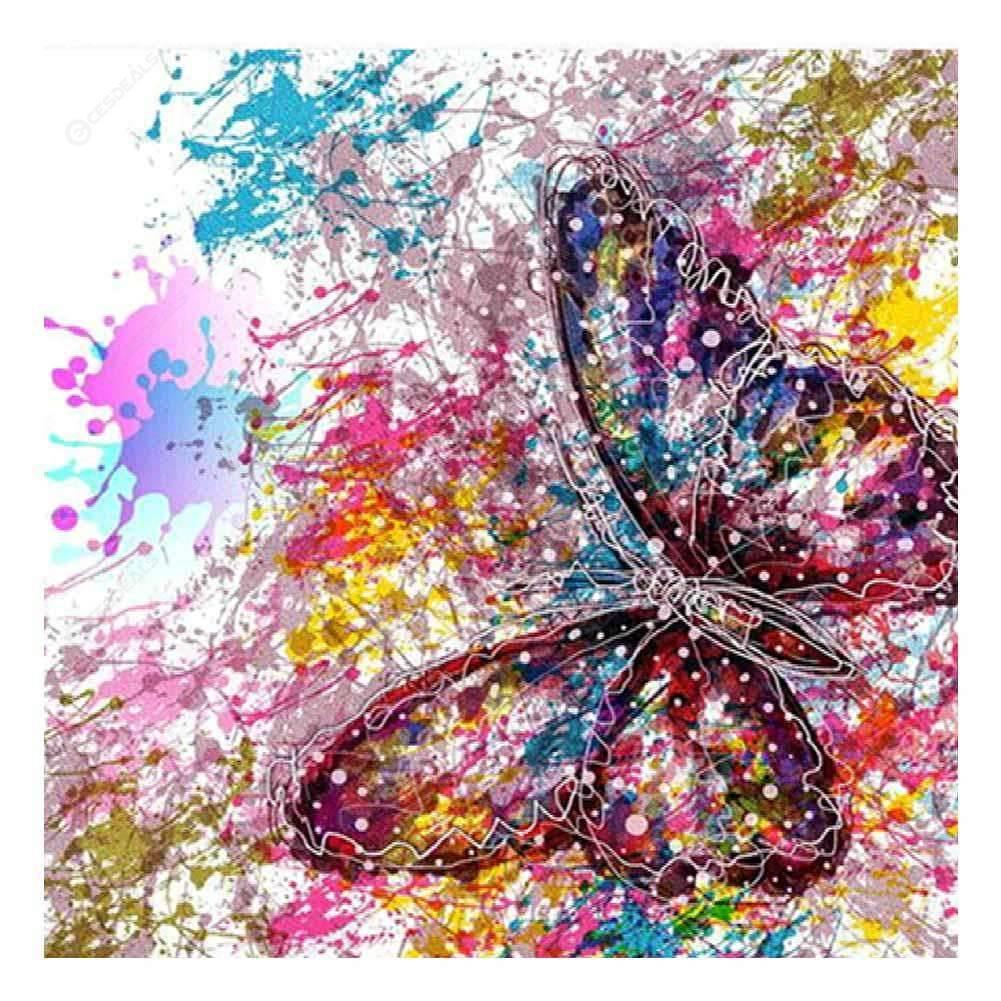 En forma de diamante de imitación diamante Pintura Notebook 5D puntada cruzada de pintura de diamante