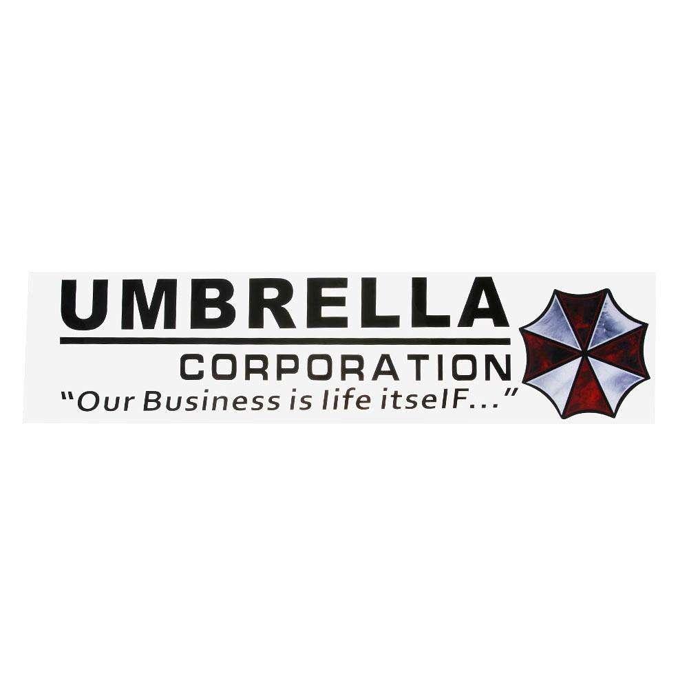 Umbrella Corporation Car Frontrear Windshield Decal Auto Window Sticker1