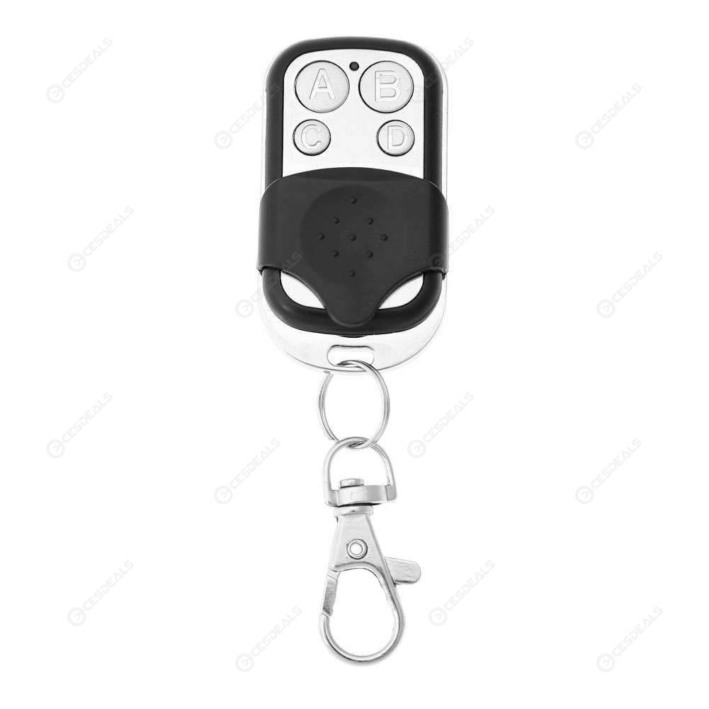 Wireless 4Channel Remote Control Cloning Duplicator Electric Gate Garage Key Fob