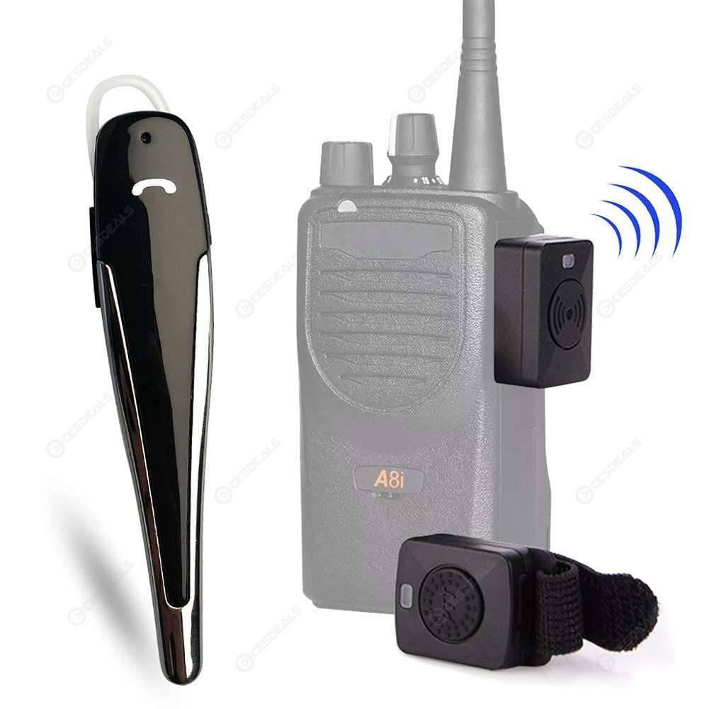 5b9571bad4c Bluetooth Headset Wireless Earphone for Motorola GP88 A81 M Type 2way Radio  ...