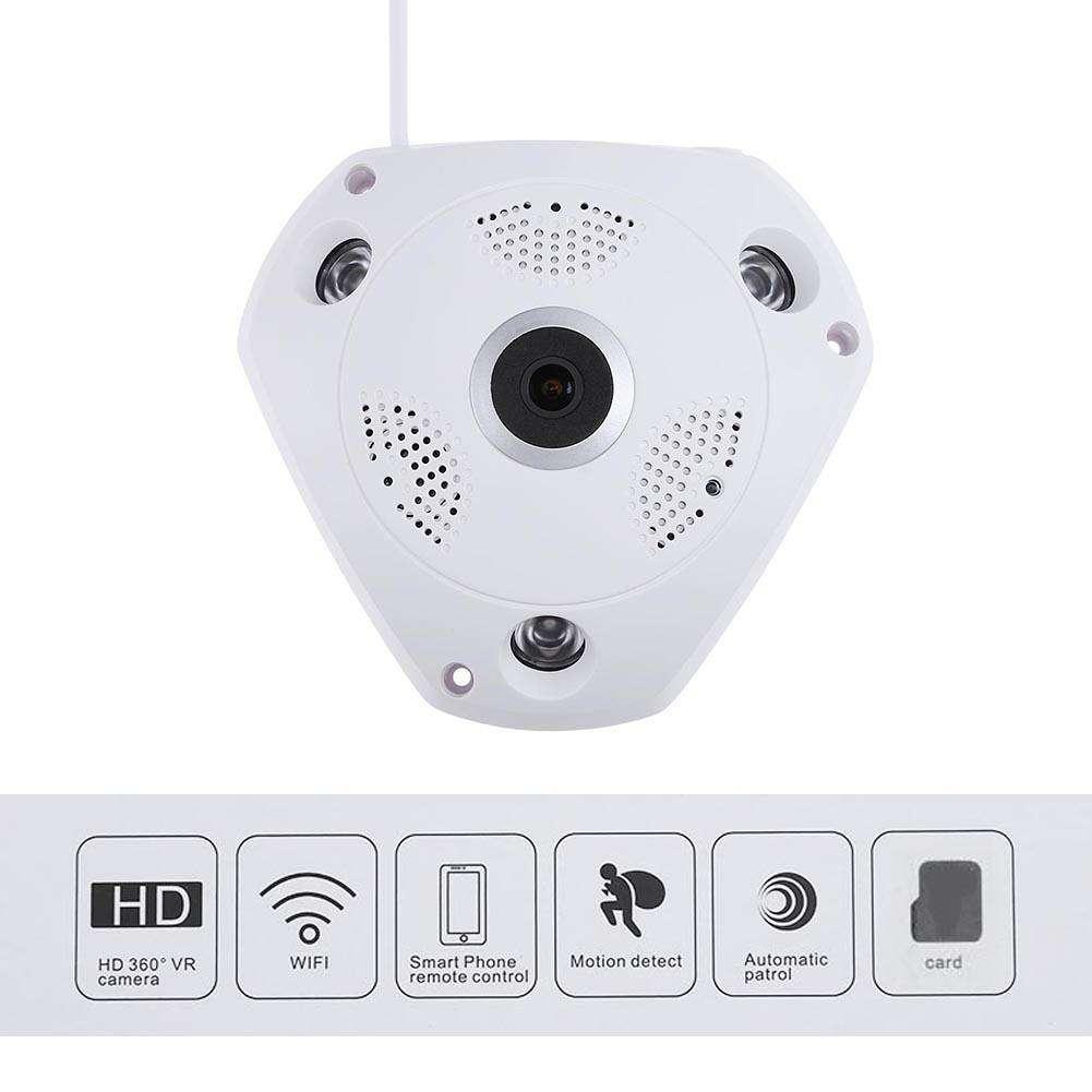 360° Panoramic Wireles Audio Video WiFi 3.0MP 3D Fish-eye Lens IP Camera