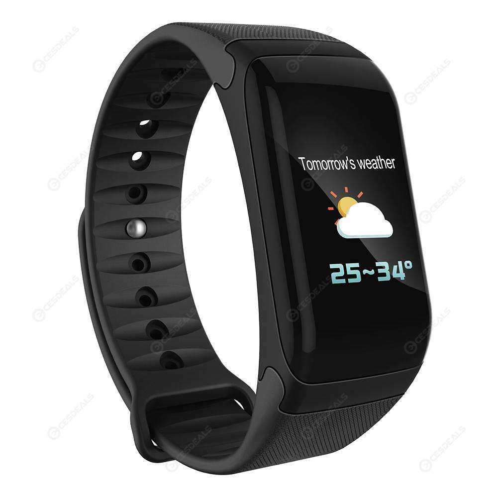 15c0f9d96 F1 Plus Smart Wristband Blood Pressure Heart Rate Monitor Bracelet(Black)  ...