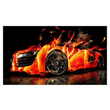 DIY Cars 5D Diamond Painting Cross Stitch Embroidery Home Decor Gift