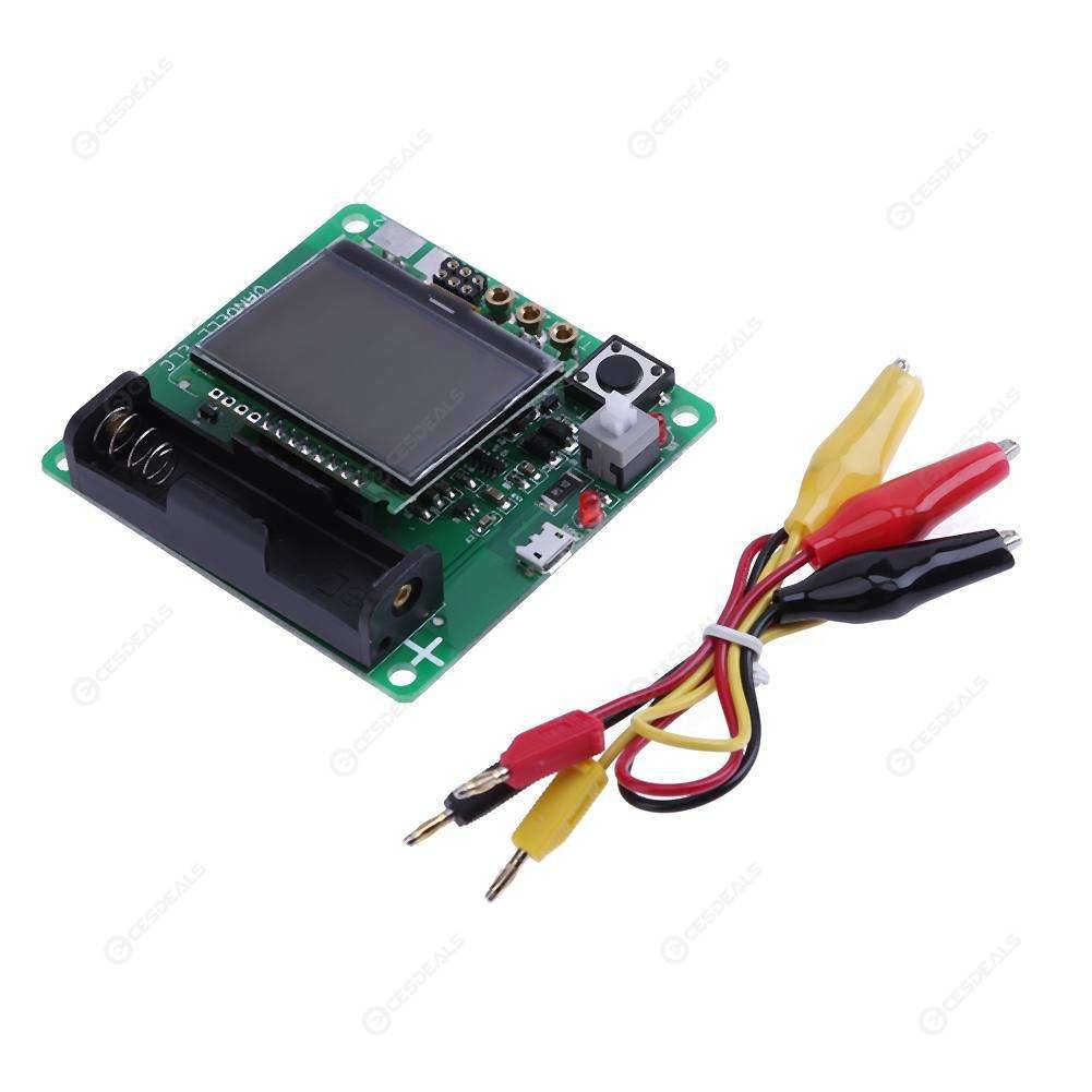 MG328 3 7V LCD Graphic Display Inductor Capacitor ESR Meter DIY Kit