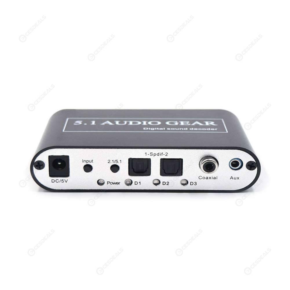 Digital Audio Decoder 5 1 Audio Digital Audio Converter HD Player with USB