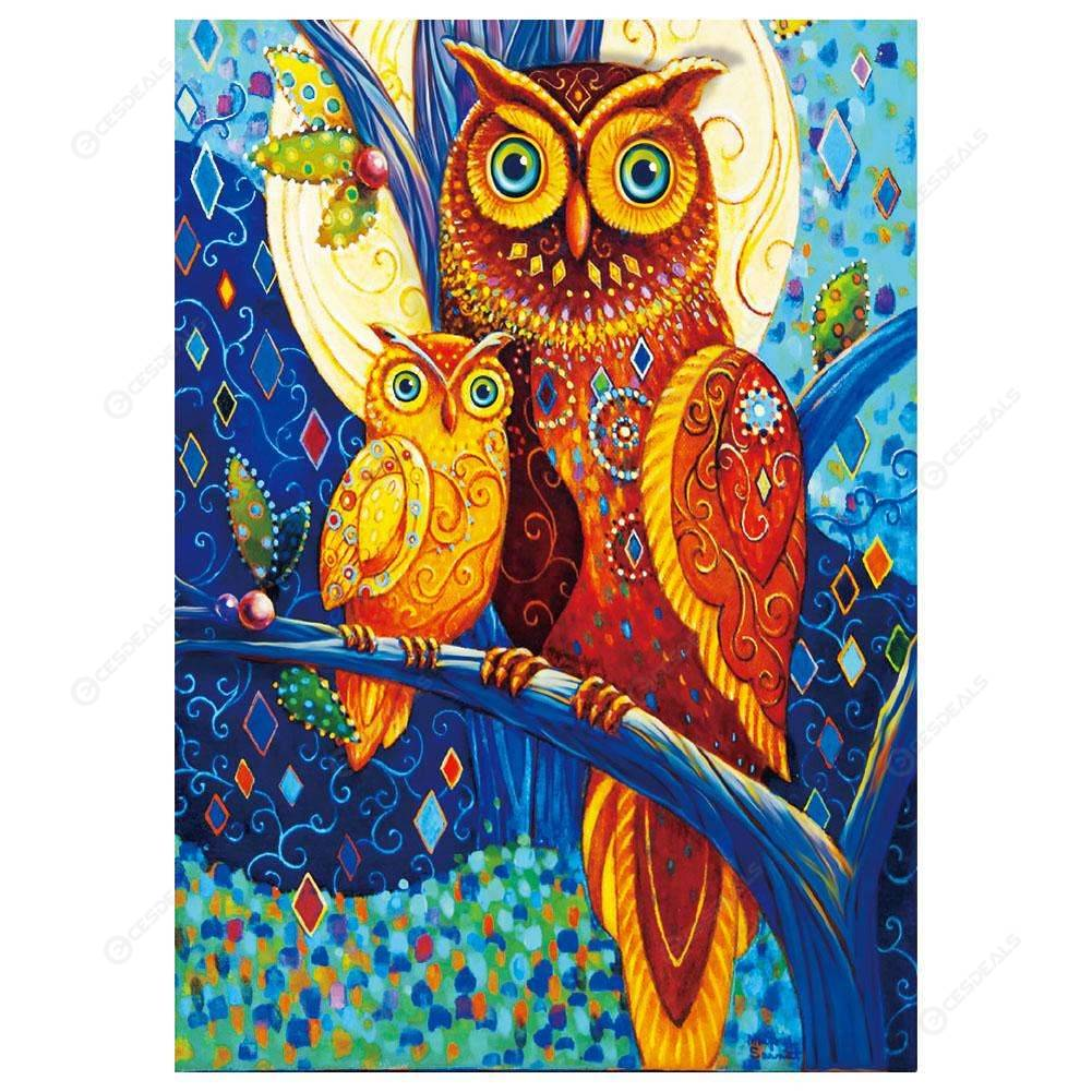 c2c205d65 5D DIY Special Shaped Diamond Painting Colorful Bird Embroider Cross Stitch  ...