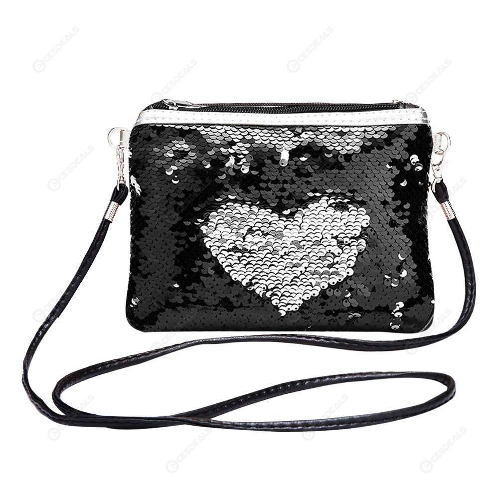 Black Laptop Shoulder Messenger Bag and Small Wire Accessories Case Set Gold Mandala