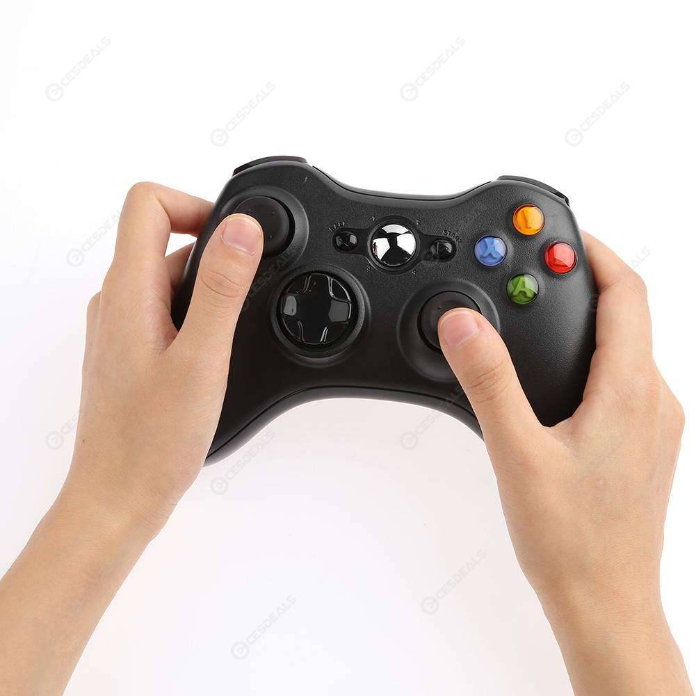 2.4G Wireless Bluetooth Gamepad Game Handle Controller Joypad for Xbox 360