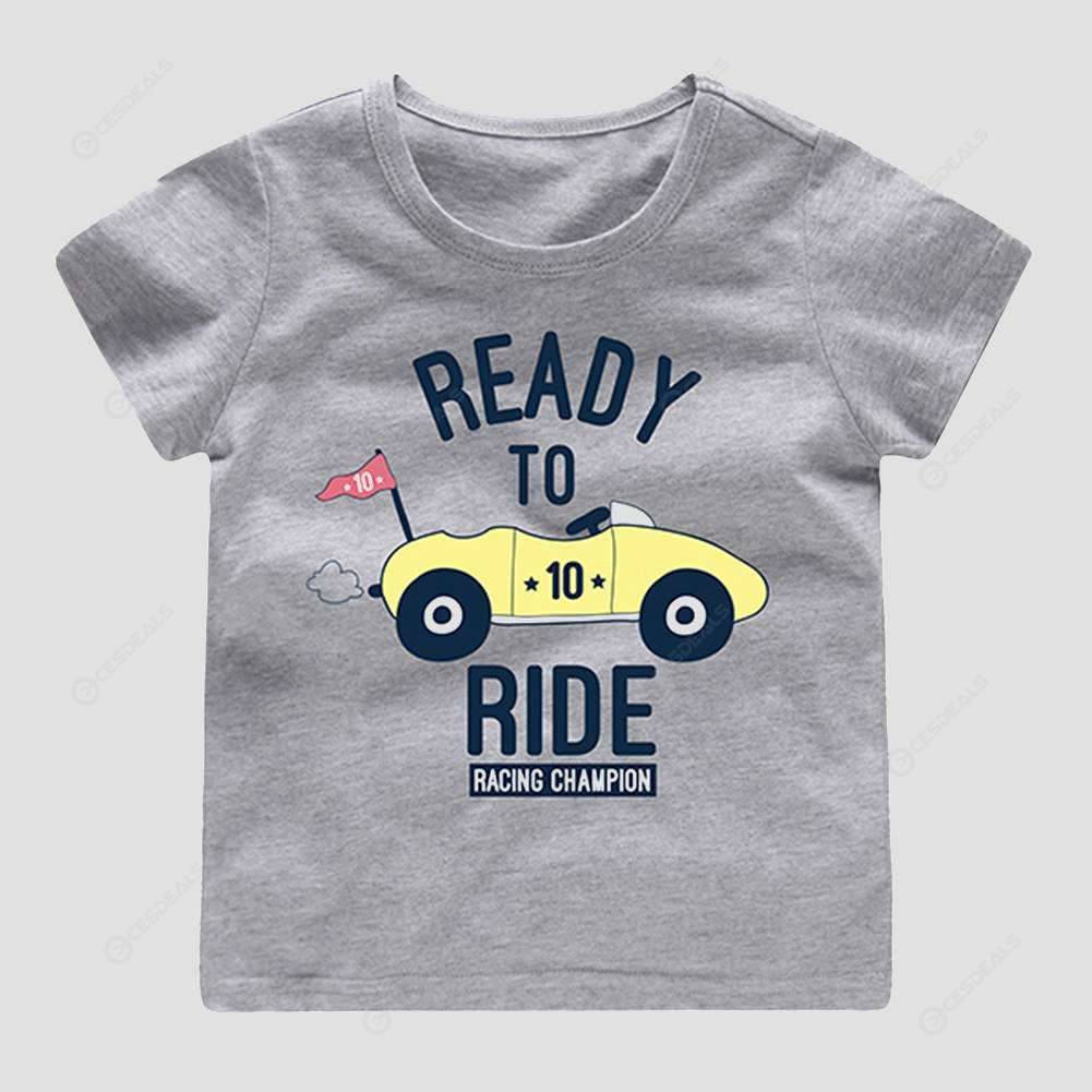 Puerto Rico Butterfly Childrens Girls Short Sleeve T Shirts Ruffles Shirt T-Shirt for 2-6T